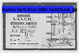 Station card from Darsham in Honkers.