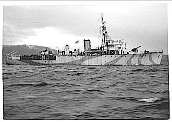 HMS MUTINE. Algerine class sweeper. my first ship.Great small ships routine. I signed on for long service when on this ship. Next ship a Carrier. WOW, did that waken me up to the real Navy