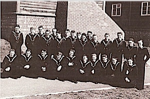 This was the first class intake in 1957. at Raleigh.