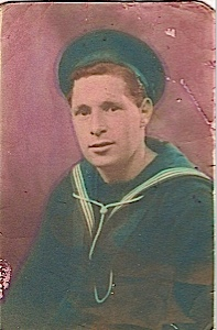This is my older brother Christy, back on leave from the Atlantic convoys.