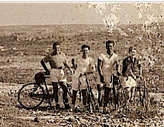 This was part of the cycling club that we had on HMS Cumberland, this was taken near Gozo end of Malta.