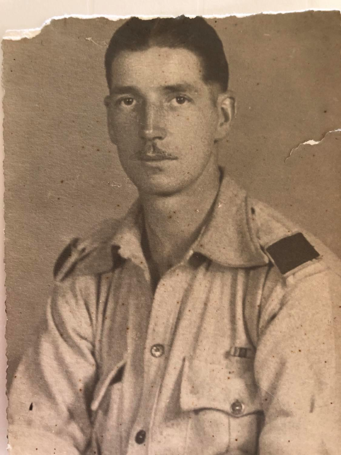 This is my Grandad T H Knowles who was in the 1/4th Essex Regiment