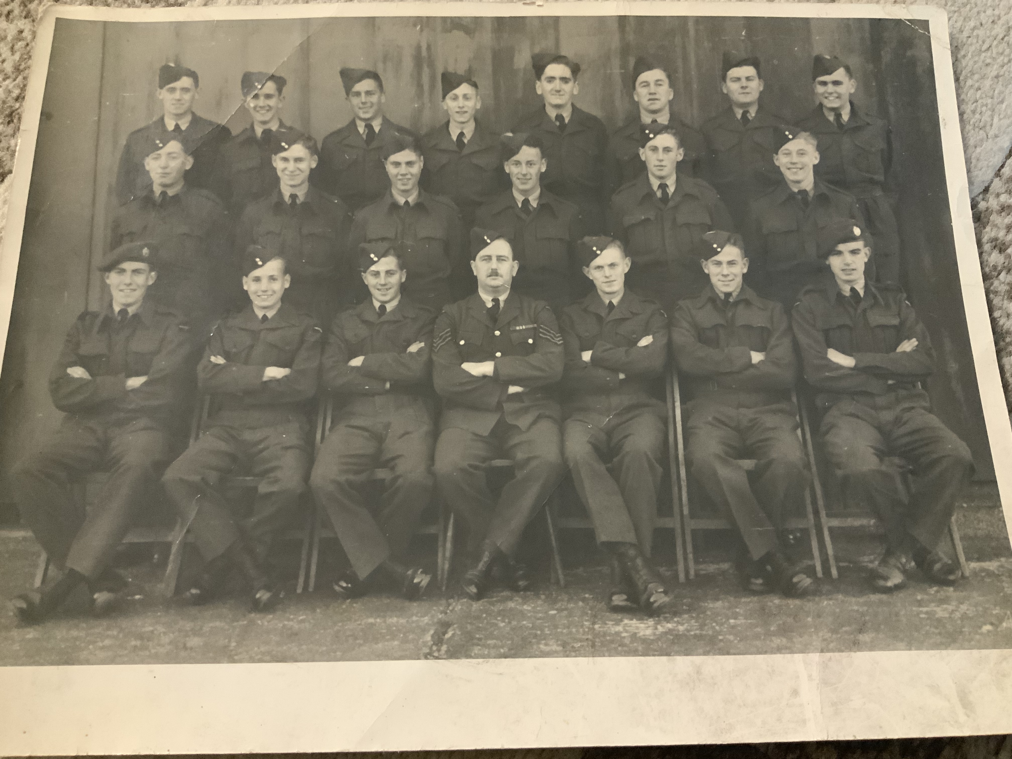 Course 80. Class 'c'. R.A.F Station Wythall.
