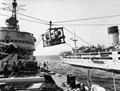 RFA RETAINER ammunition transfer to HMS GIRDLENESS