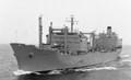 RFA REGENT all at sea