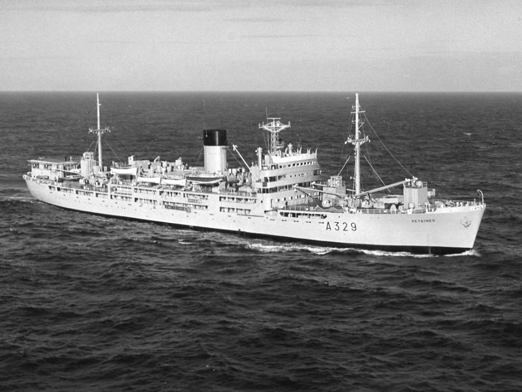 RFA RETAINER my first ship.